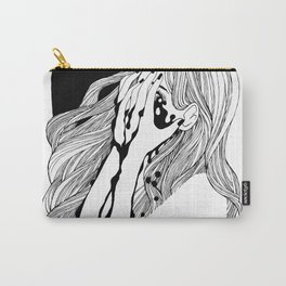 Crying girl Carry-All Pouch