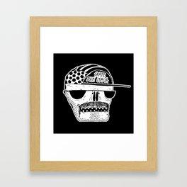 Italian Skull  Framed Art Print