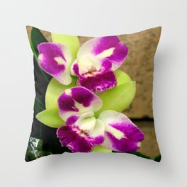 Proudly Peloric Purple... Throw Pillow
