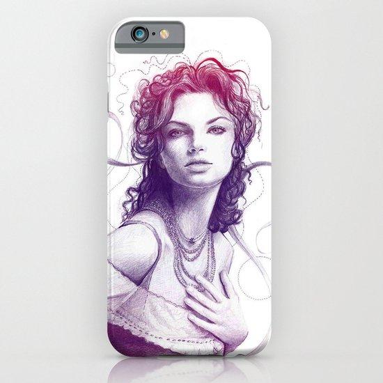 Beautiful Girl Portrait iPhone & iPod Case
