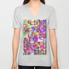 Re-Created Cypher 15.0 by Robert S. Lee Unisex V-Neck