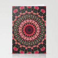 spiritual Stationery Cards featuring Spiritual Rhythm Mandala by Elias Zacarias
