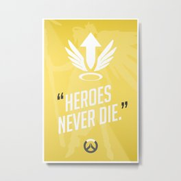 Ultimate Quote - Mercy Metal Print