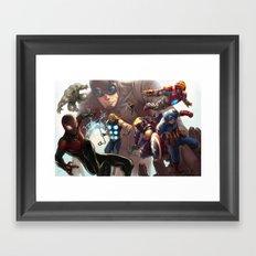 Ultimates Framed Art Print
