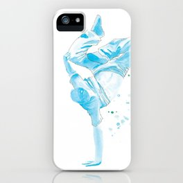 The Breakdancer iPhone Case