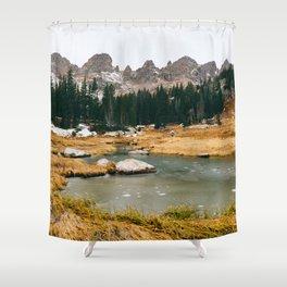Gore Range – Rocky Mountains Shower Curtain