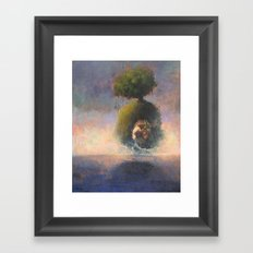 the argonaut Framed Art Print
