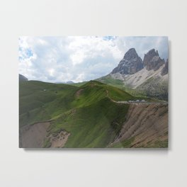 Sellajoch Mountain - Italy Alps Metal Print