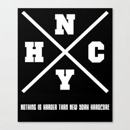 New York hardcore Canvas Print