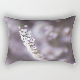 The Smallest White Flowers 02 Rectangular Pillow