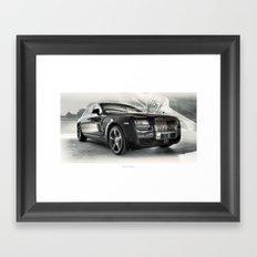 Cars: Rolls Framed Art Print