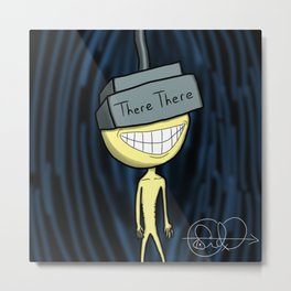 There There VR Odese Metal Print