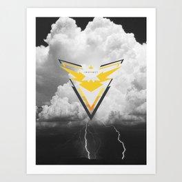 GO INSTINCT Art Print
