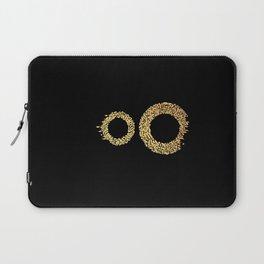 Two Worlds Calligram Laptop Sleeve