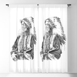 Native American Blackout Curtain