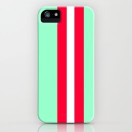 Aquafresh Racing Stripe iPhone Case