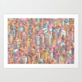 Continuous New York City Art Print