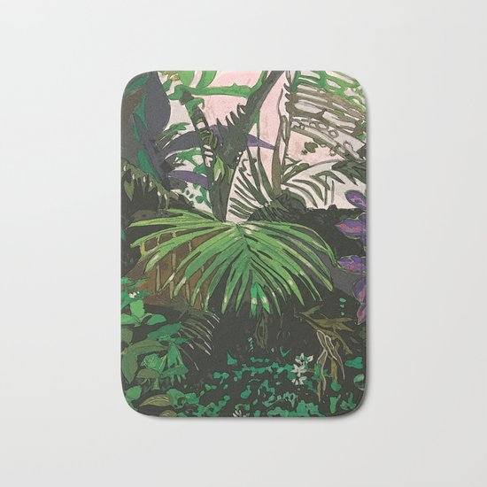 Imaginary Rainforest Bath Mat