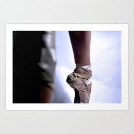 Ballet-Pointe Art Print