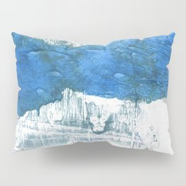 Lapis lazuli abstract watercolor Pillow Sham