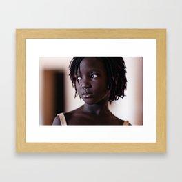 Flo Nikiema Framed Art Print