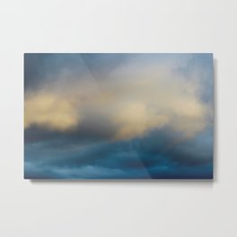 Cloud Bathing Metal Print