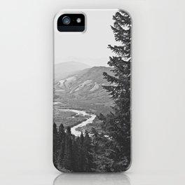 River through the Mountains iPhone Case