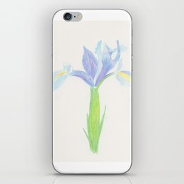 Wedgewood Iris iPhone Skin