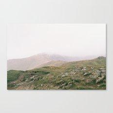 Misty Mountains II Canvas Print