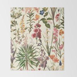 Secret Garden VI Throw Blanket