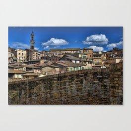Sienna, italy Canvas Print