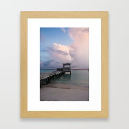 Clouds, Isla Mujeres Framed Art Print