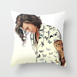 Harry Styles: Butterflies Throw Pillow