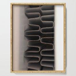 Industrial Coils Pop Art Serving Tray