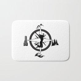 Adventure Bod - Logo Bath Mat