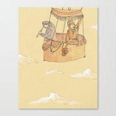 Hot Air Balloon Ride  Canvas Print