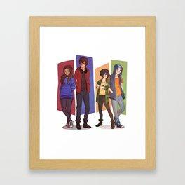MODERN GAANG Framed Art Print