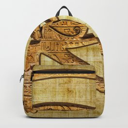 The Wadjet - Ancient Egyptian Eye of Horus Backpack
