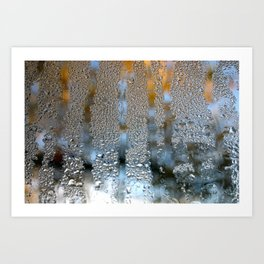 Out with Fall and In with Winter Art Print