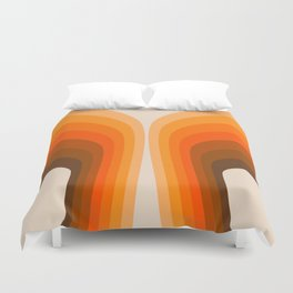 Golden Wing Duvet Cover