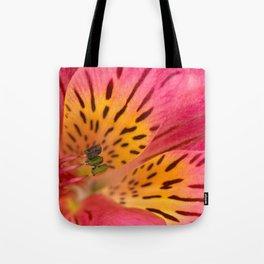 Peruvian Lily Macro Tote Bag
