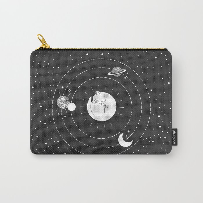 The Space Cat Carry-All Pouch