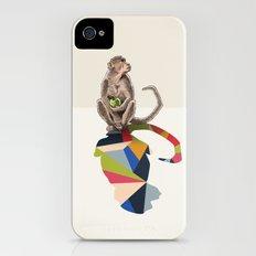 Walking Shadow, Monkey iPhone (4, 4s) Slim Case