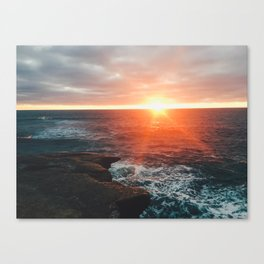 Windansea Beach Canvas Print