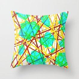 Neuronic Throw Pillow