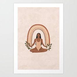 Expanding and Growing beyond what you thought was possible Art Print