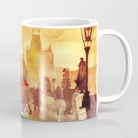 takmaj Mugs featuring Charles Bridge by takmaj