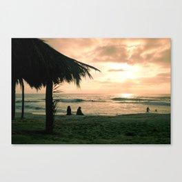 Windansea at Sunset Canvas Print