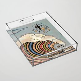 Ride your own wave Acrylic Tray