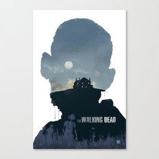 The Walking Dead - Season 2 Canvas Print